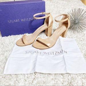Stuart Weitzman The Nearly nude sandal beige 9